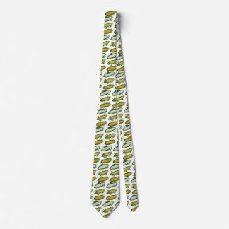 Vintage Food Healthy Vegetables, Fresh Corn on Cob Neck Tie