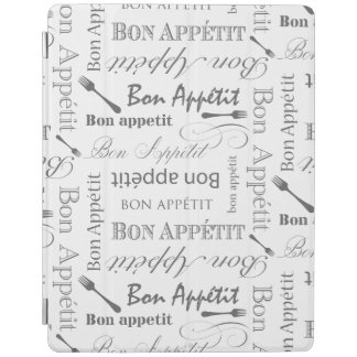 Vintage Food Lover's Gourmet Pattern Bon Appetit iPad Smart Cover