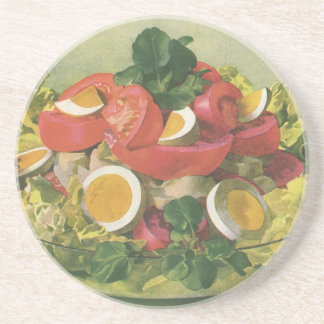 Vintage Food, Organic Mixed Green Mesclun Salad Coaster