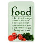 Vintage Food Poster Magnets
