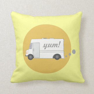 Vintage Food Truck Pillow