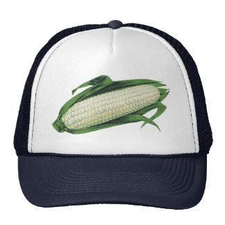 Vintage Food Vegetables White Corn on the Cob Trucker Hat