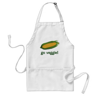Vintage Food Vegetables Yellow Corn on the Cob Aprons