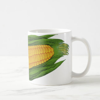 Vintage Food Vegetables; Yellow Corn on the Cob Coffee Mug