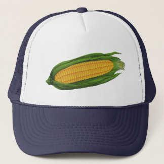 Vintage Food Vegetables; Yellow Corn on the Cob Trucker Hat