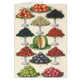 Vintage Foods Assorted Fruit on Trays for Catering Card