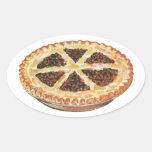 Vintage Foods Dessert, Fresh Baked Pecan Pie Stickers