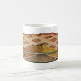Vintage Foods, Dessert, Thanksgiving Pumpkin Pie Coffee Mug