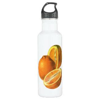 Vintage Foods, Fruit Organic Fresh Healthy Oranges Water Bottle