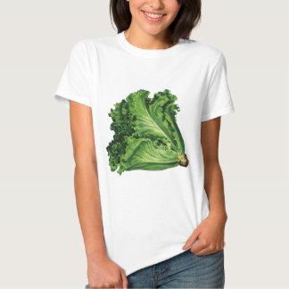 Vintage Foods, Green Leaf Lettuce Vegetables T-Shirt