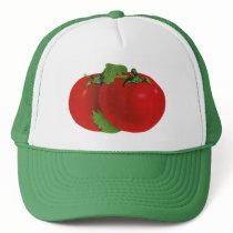 Vintage Foods, Organic Red Ripe Heirloom Tomato Trucker Hat