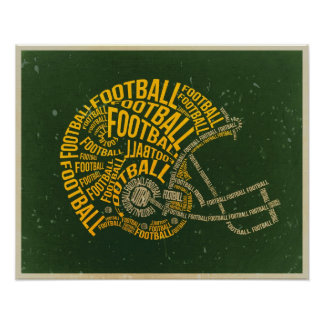 Fans who Vintage football poster more expensive