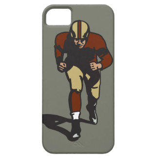 Vintage Football Player iPhone Case