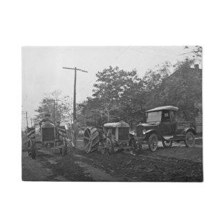 Vintage Ford Auto & Tractor Sales Model T Doormat