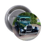 Vintage Ford Hot Rod Pinback Button