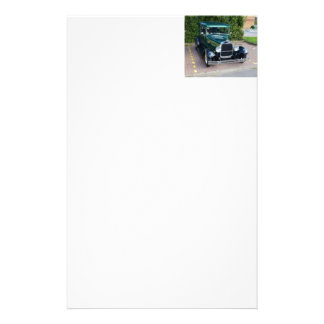 Vintage Ford Hot Rod Customized Stationery