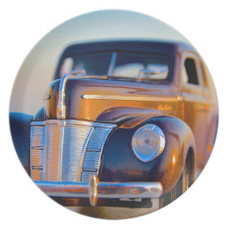Vintage Ford Party Plates