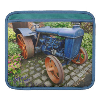 Vintage Fordson Tractor, Bredbury Hall Sleeves For iPads