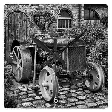 Vintage Fordson Tractor, Bredbury Hall Wall Clock