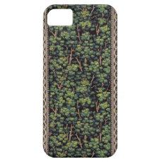 Vintage Forest Wallpaper iPhone 5s Case