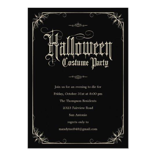 costume party invitations Minimfagencyco