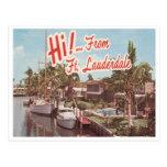 Vintage Fort Lauderdale Postal