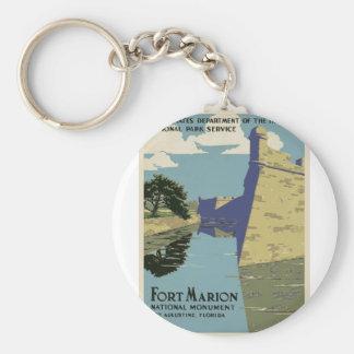 Vintage Fort Marion Keychain