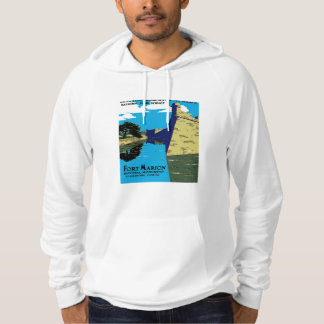 Vintage Fort Marion National Monument WPA Poster Hoodie