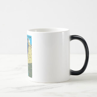 Vintage Fort Marion National Monument WPA Poster Magic Mug