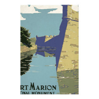 Vintage Fort Marion Stationery