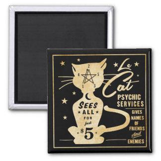 Vintage Fortune Telling Design - Le Cat Magnet