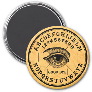 Vintage Fortune Telling Psychic Eye 3 Inch Round Magnet