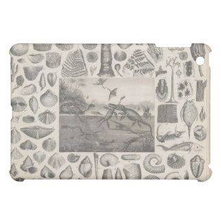 Vintage Fossil Record Print iPad Case