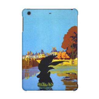 Vintage Fountainebleau France Travel Poster iPad Mini Retina Cases