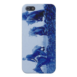 Vintage Fox Hunt iPhone Case Cases For iPhone 5