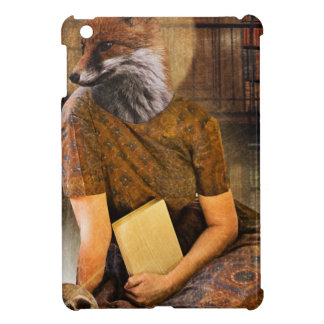 Vintage Fox Lady Face Animal Cover For The iPad Mini