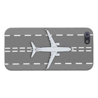 vintage FR-13, iphone 5/5s del avión brillante iPhone 5 Carcasas