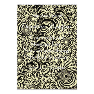 Vintage Fractal Abstract Card