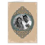 Vintage Frame We're Engaged Cards