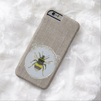 Vintage Framed Bumblebee iPhone 6 Case Barely There iPhone 6 Case
