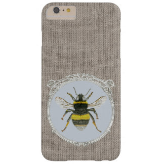 Vintage Framed Bumblebee iPhone 6 Plus Case Barely There iPhone 6 Plus Case