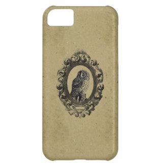 Vintage framed owl bird owls birds rustic chic iPhone 5C cover
