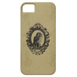 Vintage framed owl bird owls birds rustic chic iPhone SE/5/5s case