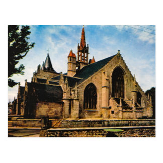 Vintage France,Bretagne, Penmarch, Eglise St Nonna Post Cards