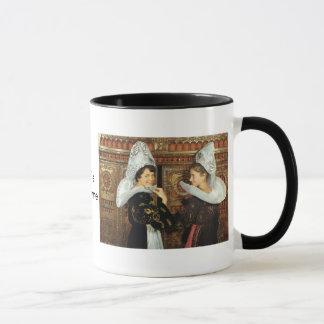 Vintage France, Bretonne ladies Mug