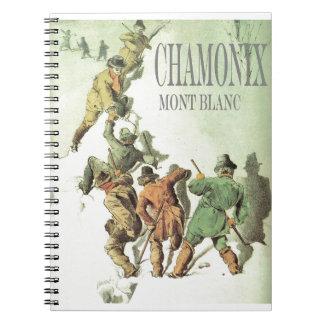 Vintage France Chamonix Mt Blanc Journals