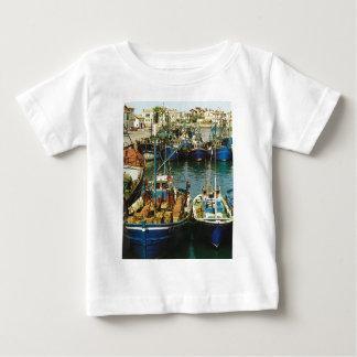 Vintage France, Fishing boats, St Jean de Luz Baby T-Shirt