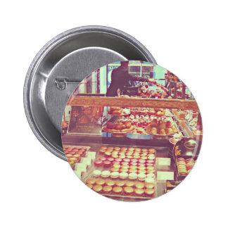 Vintage France macaroon shop Buttons