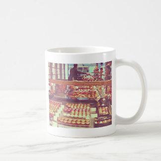 Vintage France macaroon shop Coffee Mug