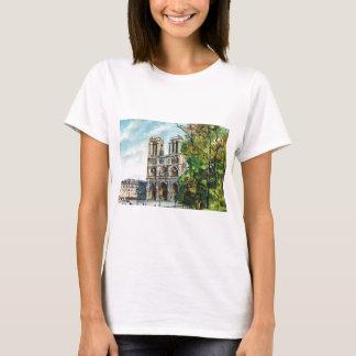 Vintage France, Notre Dame de Paris T-Shirt